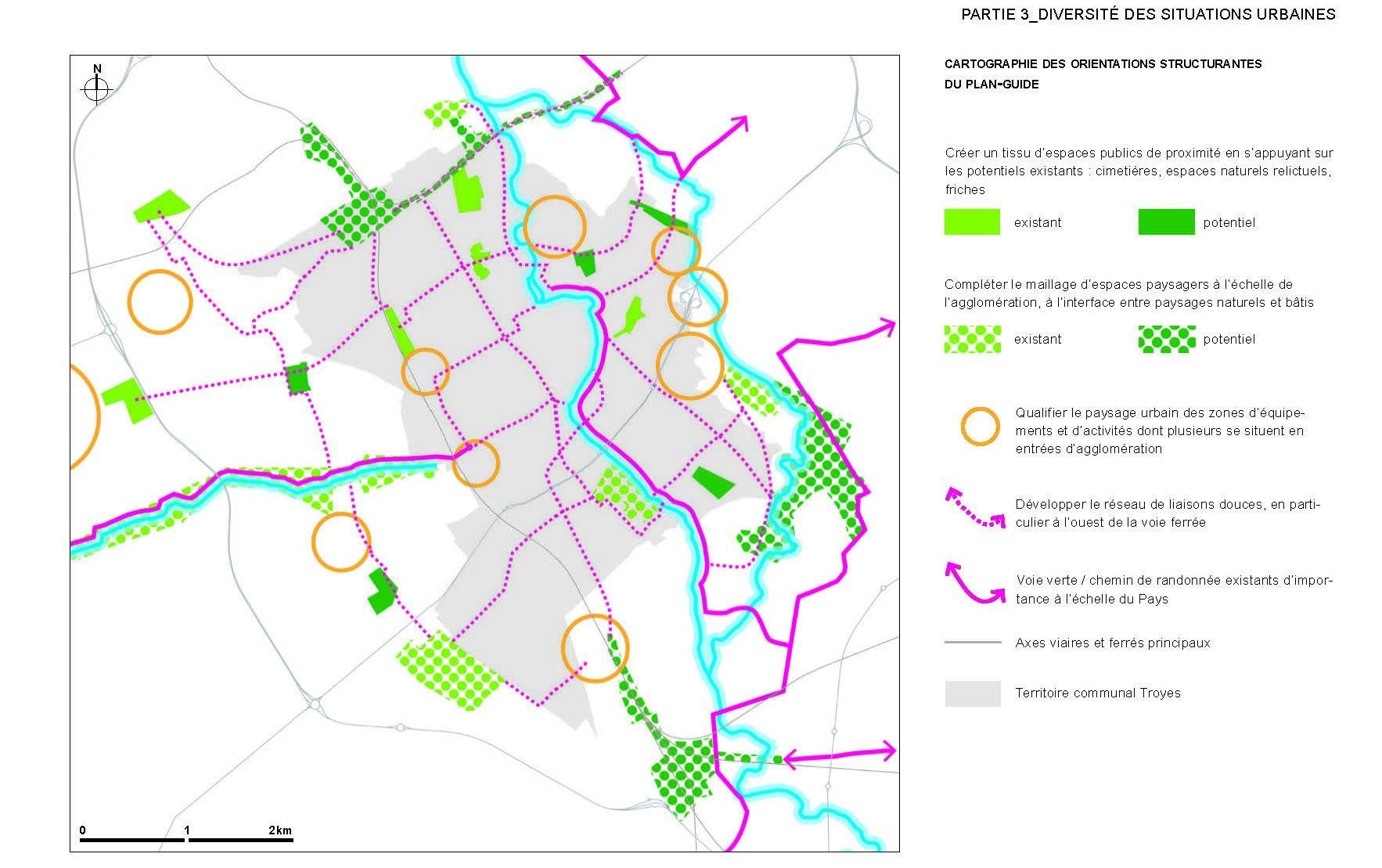 Omnibus | Plan de paysage de Troyes